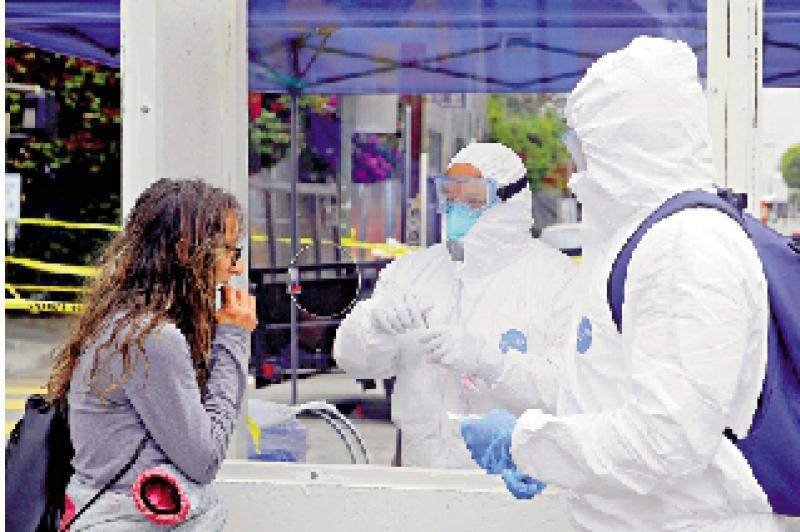 新冠病毒去年12月或已在洛杉矶传播