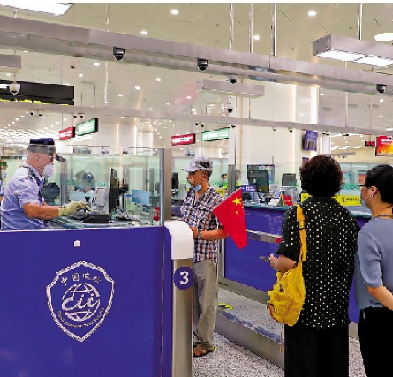?橫琴新口岸開通滿月 驗放34萬旅客