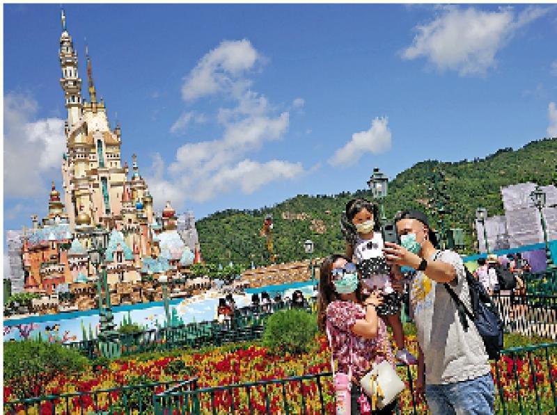 迪士尼后日重开 暂时逢周二四关闭