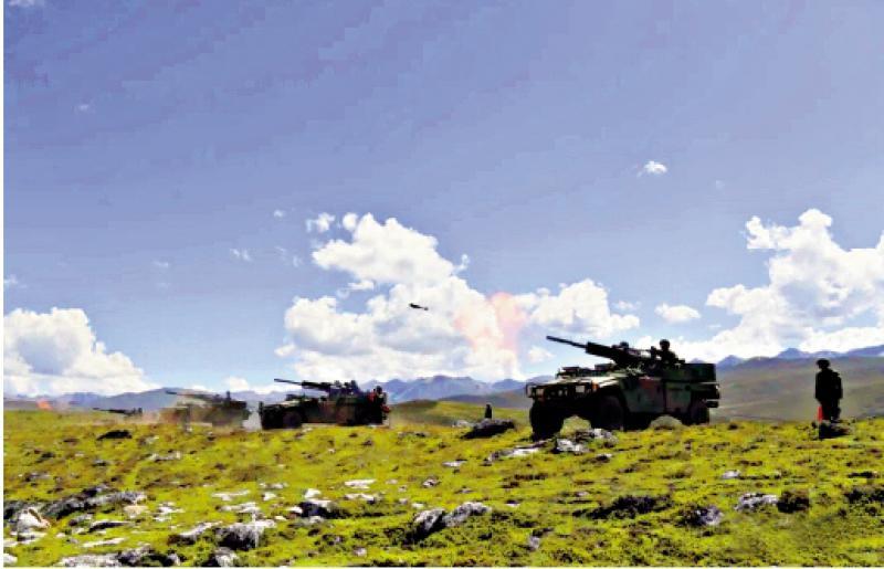 国防部:中印同意停止向一线增兵