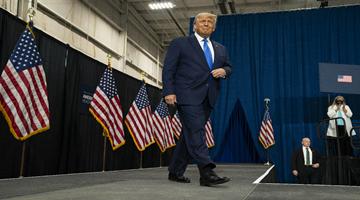 美民主党批评特朗普:破坏民主