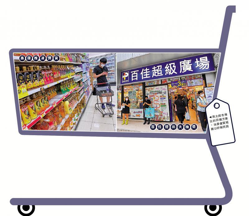 消委会质疑两大超市无心回馈