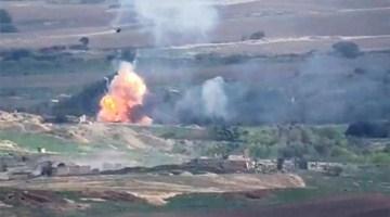阿塞拜疆国防部:亚美尼亚军队2700多人伤亡