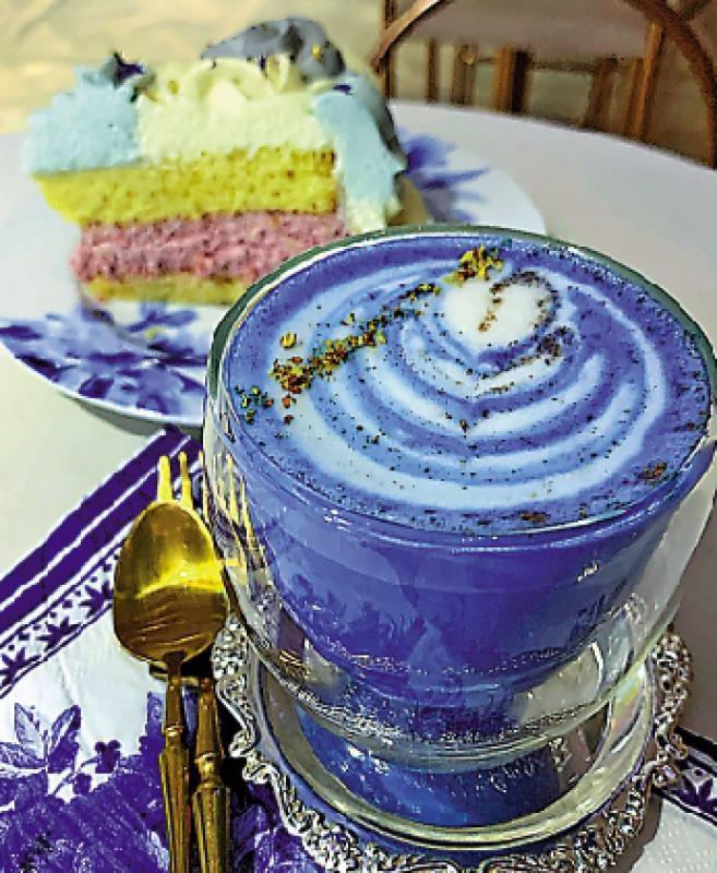 简饮择食/蓝色下午茶\简嘉明
