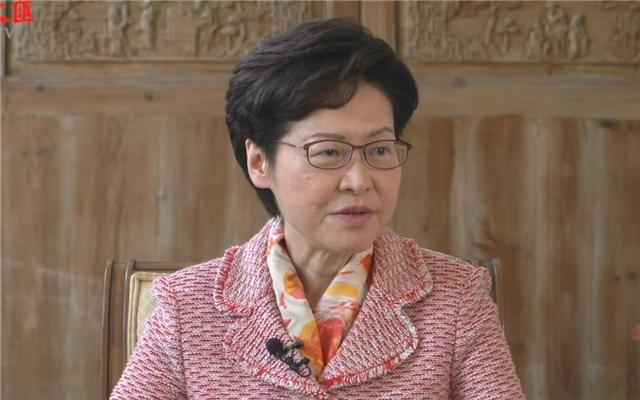 专访丨林郑月娥:香港经济复甦需中央支持 施政报告谋划新机遇