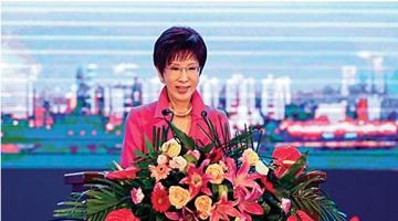 """洪秀柱:蔡英文政府""""反中""""有损台湾竞争力"""