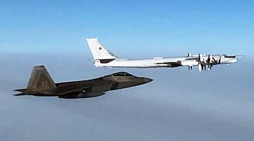 俄军机抵近阿拉斯加 美军紧急拦截称是今年第14次