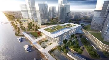 广州穗港澳出入境大楼封顶 三地未来半小时互通