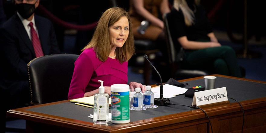 美参议院通过最高法院大法官巴雷特关键程序性投票