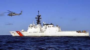 外媒:美国将在西太平洋部署海警巡逻舰