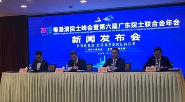 2020粤港澳院士峰会将举行 顶尖科学家把脉湾区科创