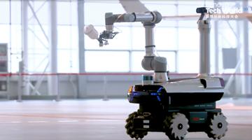 再次助力国产大飞机制造,联想晨星机器人震撼了2020 Tech World全场