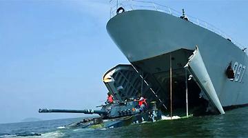 国防部:海军陆战队聚焦练兵备战 提升联合登陆作战核心能力