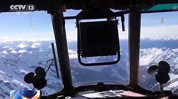 飞越雪山峡谷 25吨过冬物资运抵西藏军区边防哨卡