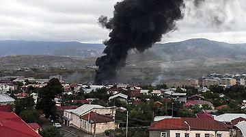 纳卡冲突双方多地再次交火 阿军方计划消灭纳卡