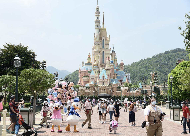 迪士尼「奇妙夢想城堡」本月21日揭幕