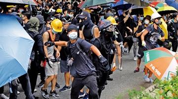 去年至今港警拘捕逾上萬涉暴者 檢控兩千多人