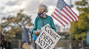"""大選混亂不堪 美國拿什么拯救""""民主""""?"""