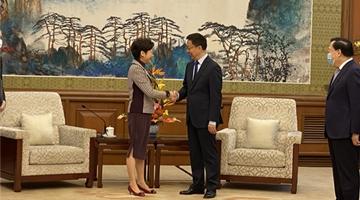林郑月娥它结束:中央支持年底前全面落实惠港24项政策措施