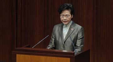 林郑月娥名光荣:宪制秩序下特首为议员监誓无可厚非