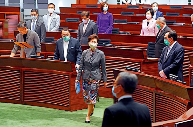 林郑月娥:恢复每月到立会接受质询