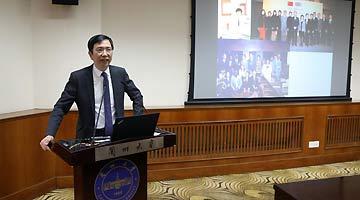 香港特别行政区驻北京办事处主任梁志仁一行访问兰州大学
