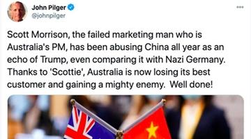 澳著名记者怼莫里森:一整年都在谩骂中国,你可真棒