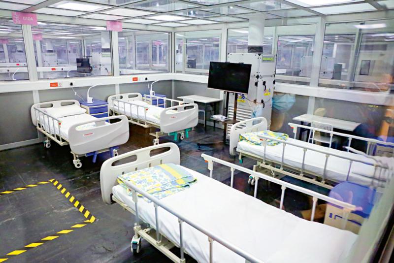 中央援建香港亚博馆社区治疗设施启用