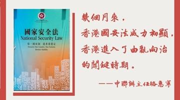 骆惠宁:需完善香港国安法制度机制 行政执法司法机关应切实执行