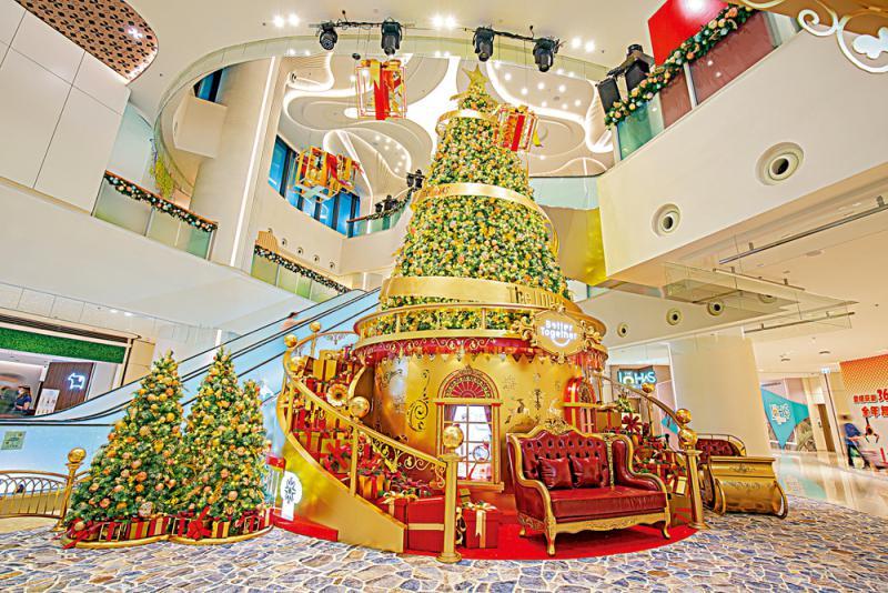 9米高圣诞树节日献礼