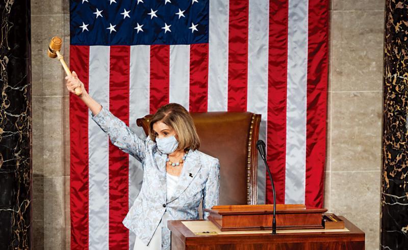 ?佩洛西惊险连任美众议长