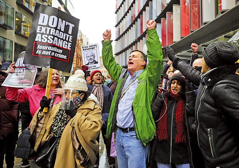 ?英法院拒引渡阿桑奇至美受审