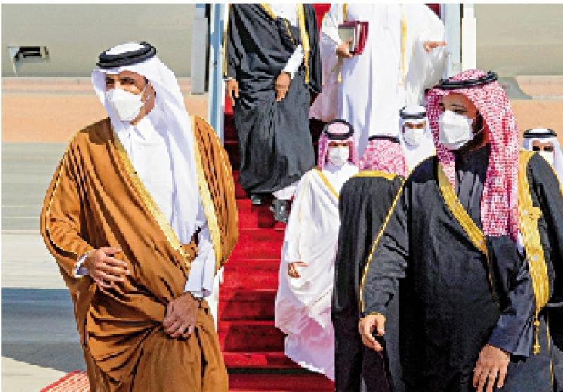 ?断交三年后 沙特卡塔尔重启边境