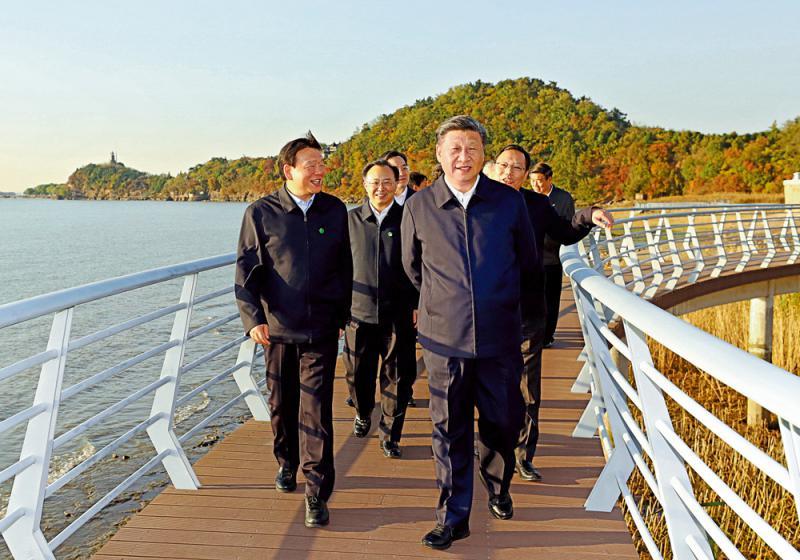 ?五年巨变 长江经济带GDP佔全国近五成