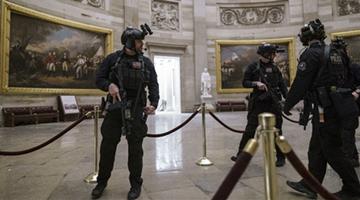 美国国会暴乱逾90人被捕 有警察死亡