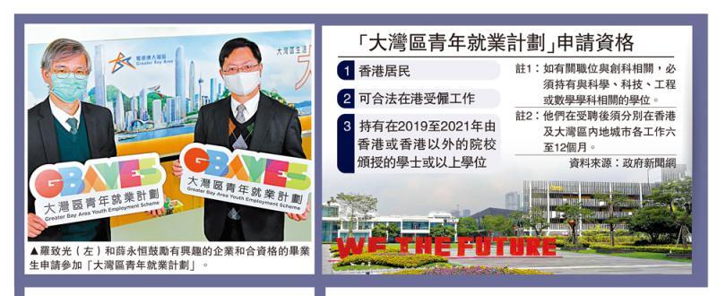 ?抓紧机遇/大学毕业生可申湾区就业大公报记者 唐晓明