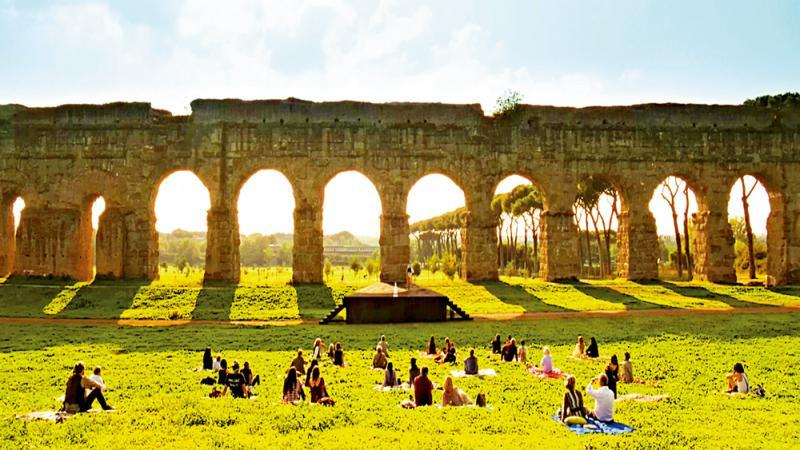 跟着電影,行走在古羅馬建築裏