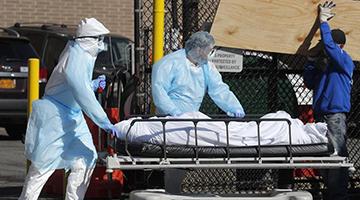 美国疾控中心预测:未来三周内或有超9万人死于疫情