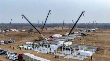 石家庄全新隔离点火速建设 3日内完成全面供电
