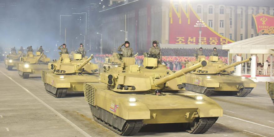 朝鲜14日晚举行阅兵式 金正恩出席