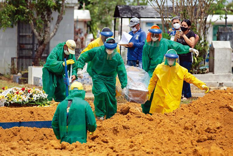 巴西现新变种病毒 英急落闸
