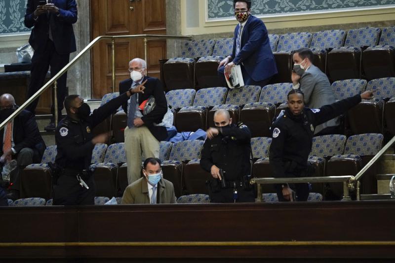 佩洛西:议员若助暴将被检控