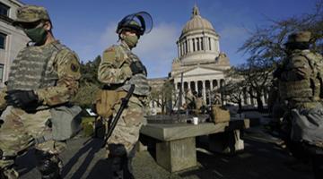 外媒:担忧内部袭击 美国联邦调查局审查国民警卫队