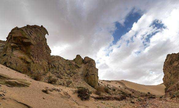柴達木盆地紅崖火星村景區建設正式啟動