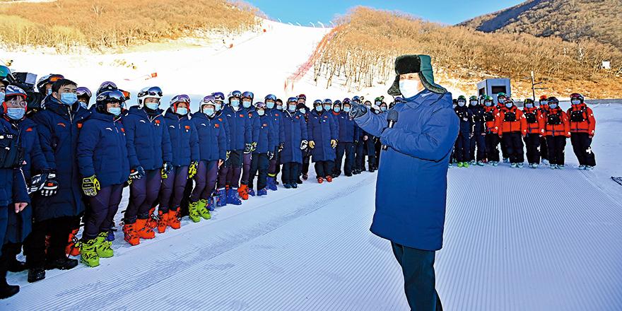 习近平考察北京冬奥备战 看望运动员调研滑雪场建设