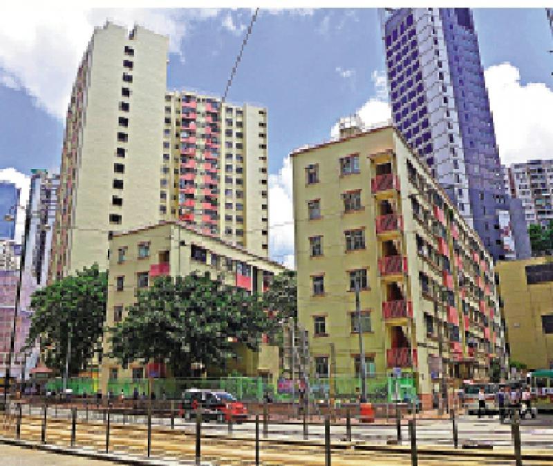 经民联倡重建26旧屋邨 提供36万单位