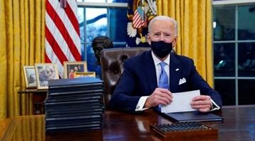 拜登要求除高层人员外,其余白宫工作人员居家办公