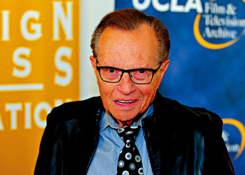Larry King infection of novel coronavirus pneumonia dies