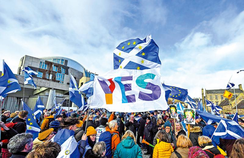 Scotland is not willing to seek a second independence referendum with brexit