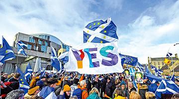 不愿随英脱欧 苏格兰谋二次独立公投